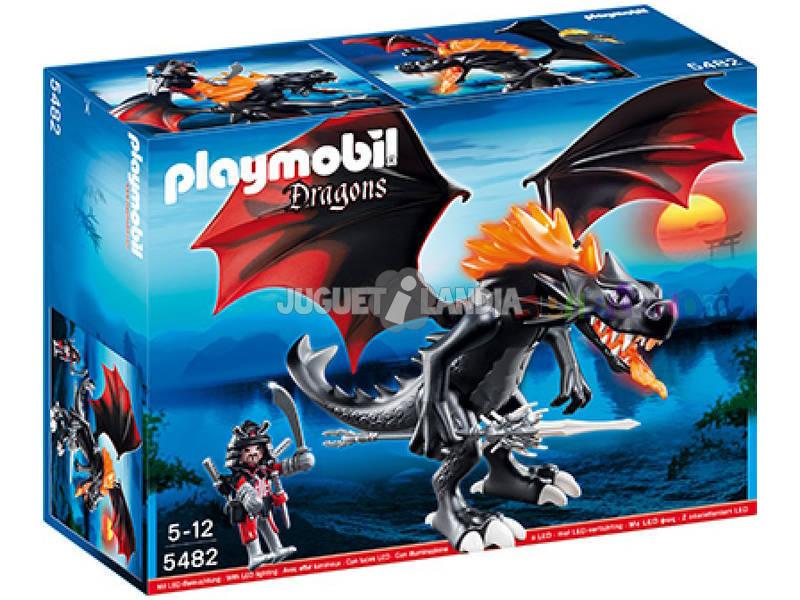 Playmobil Dragon Gigante con Fuego Led