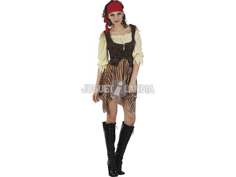 Maschera Pirata Dei Caraibi Donna Taglia L