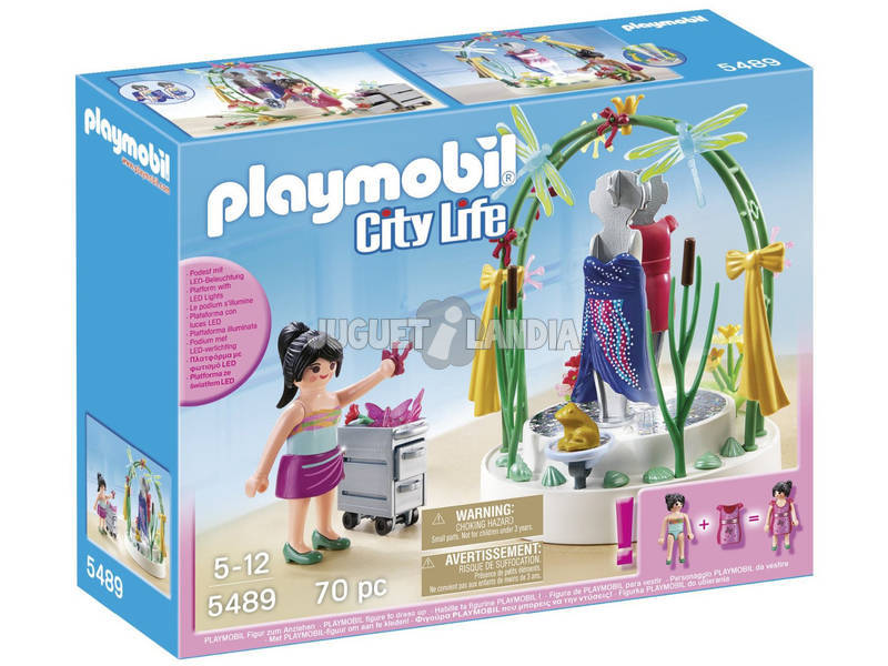 Playmobil Escaparate con Luces Led
