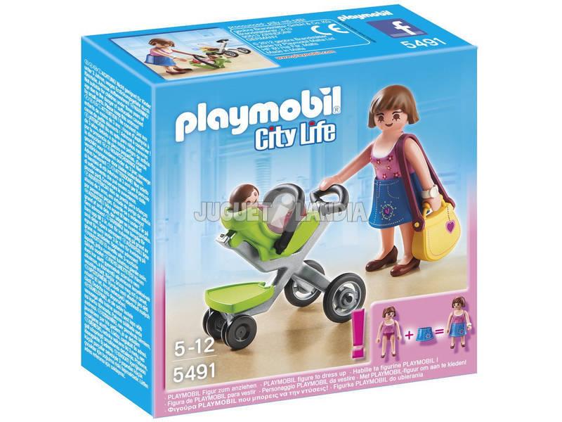 Playmobil Madre con Cochecito