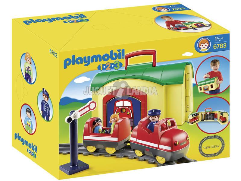 Playmobil 1.2.3 Train Valise