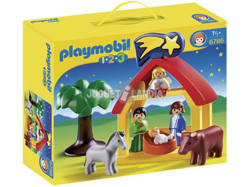 Playmobil Capanna di Gesù Bambino 1-2-3