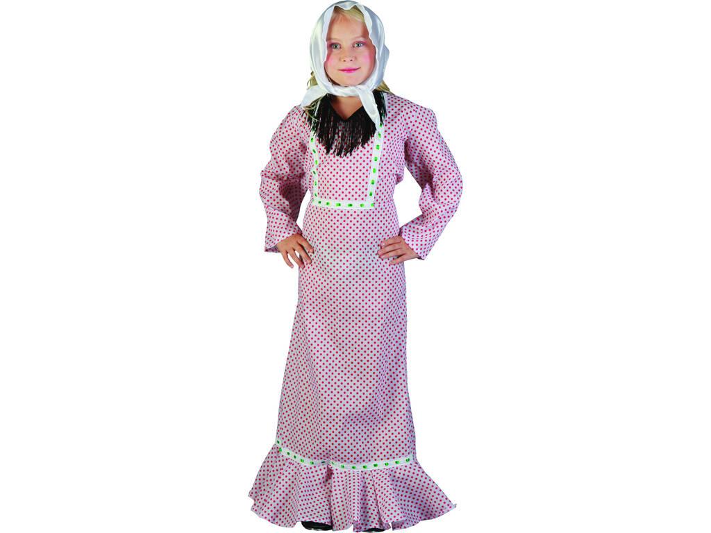 Disfraz Madrileña Niña Talla S