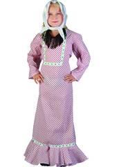 Disfraz Madrileña Niña Talla L