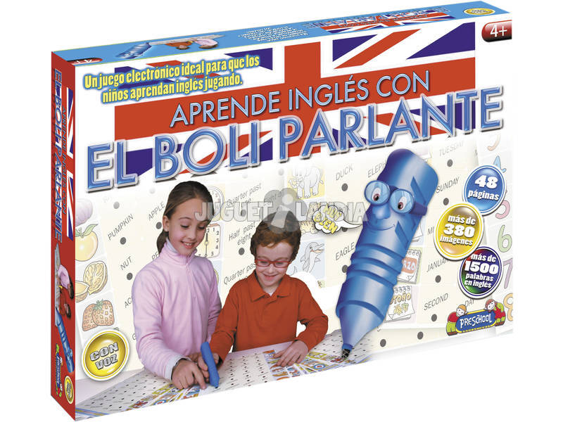 Impara inglese con la penna parlante