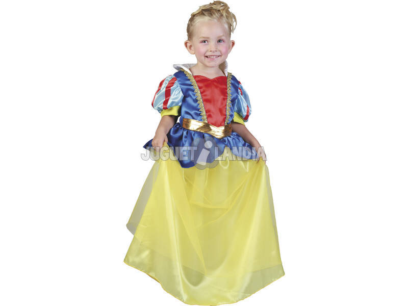 Disfraz Princesa de las Nieves Bebé Talla M