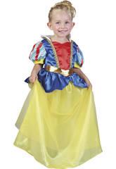 imagen Disfraz Princesa de las Nieves Bebé Talla M
