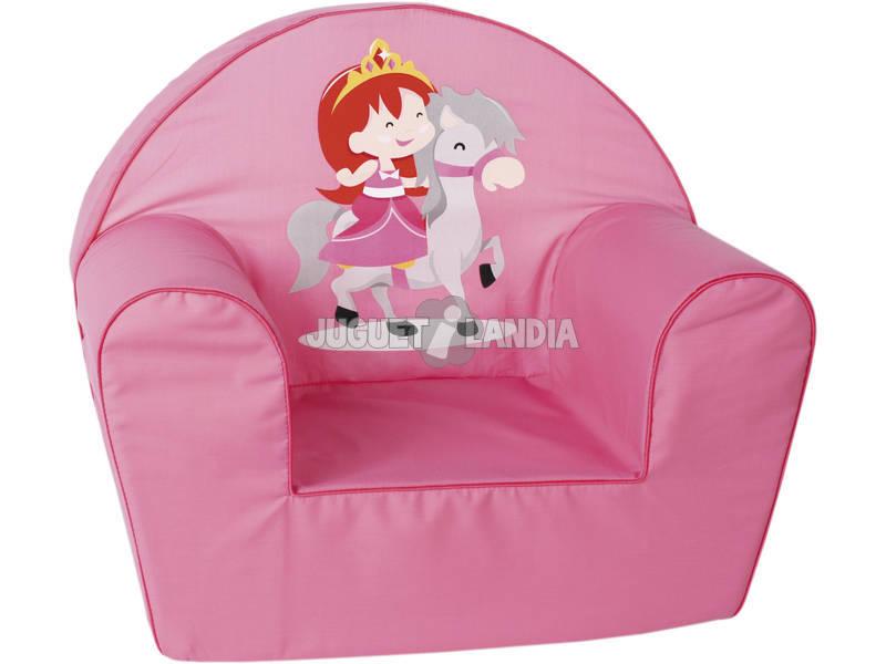 Poltrona Principessa Rosa
