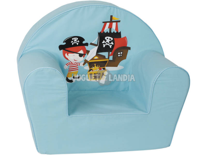 Poltrona Pirata Azzurra
