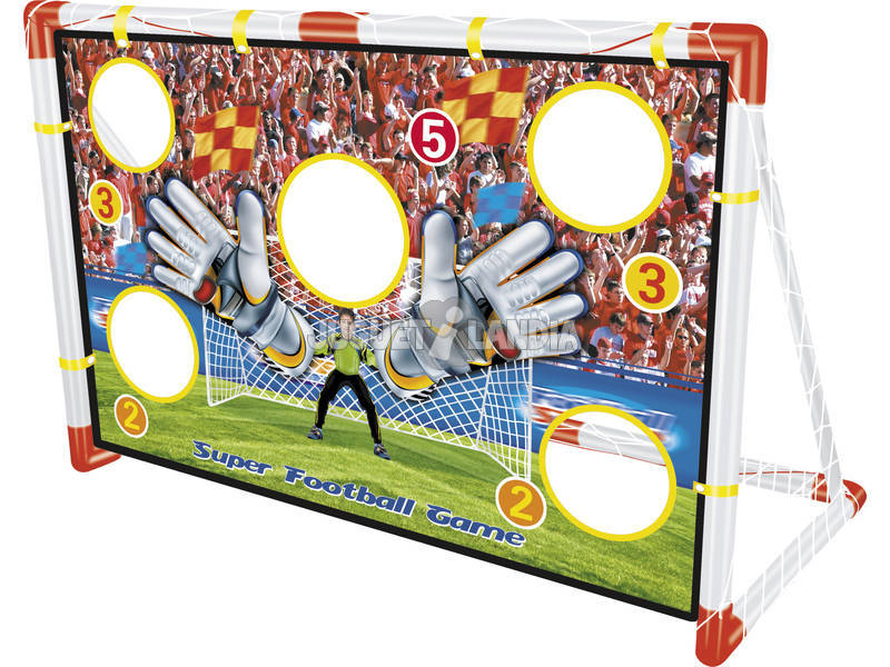 Porteria de futbol 116x76x48 cm. Puntuaciones