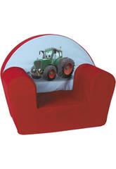 Sillon Tractor Rojo