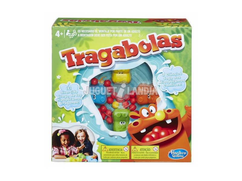 Juego Mesa Tragabolas HASBRO GAMING 98936175