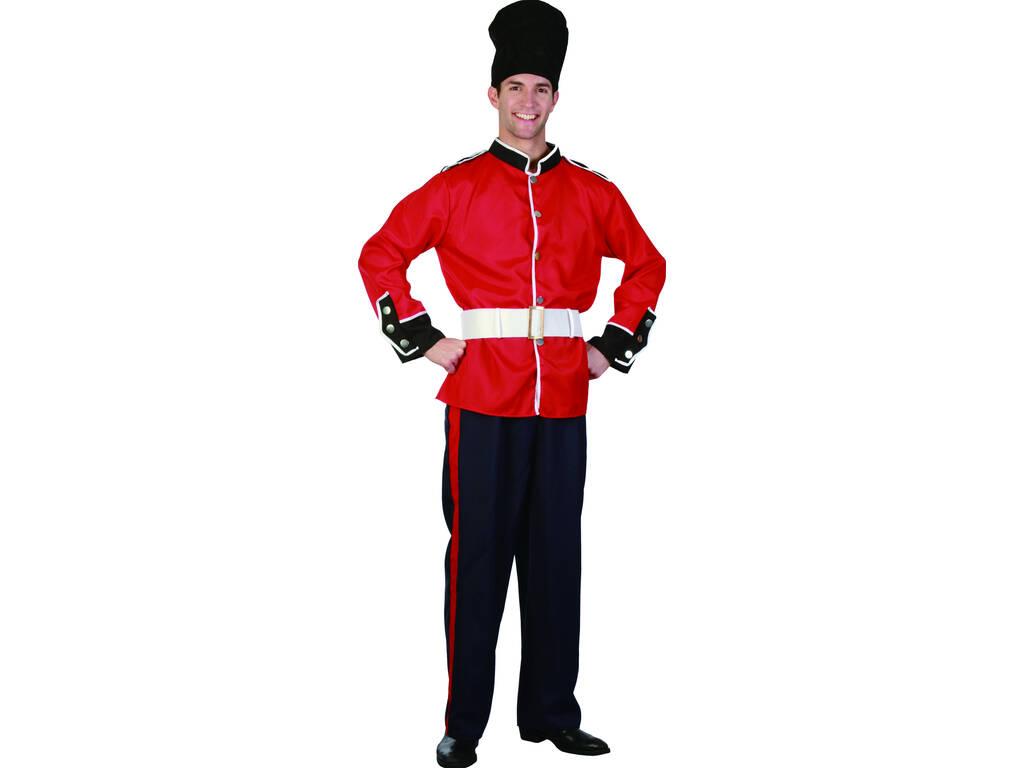Disfarce Guarda Real Homem Tamanho XL