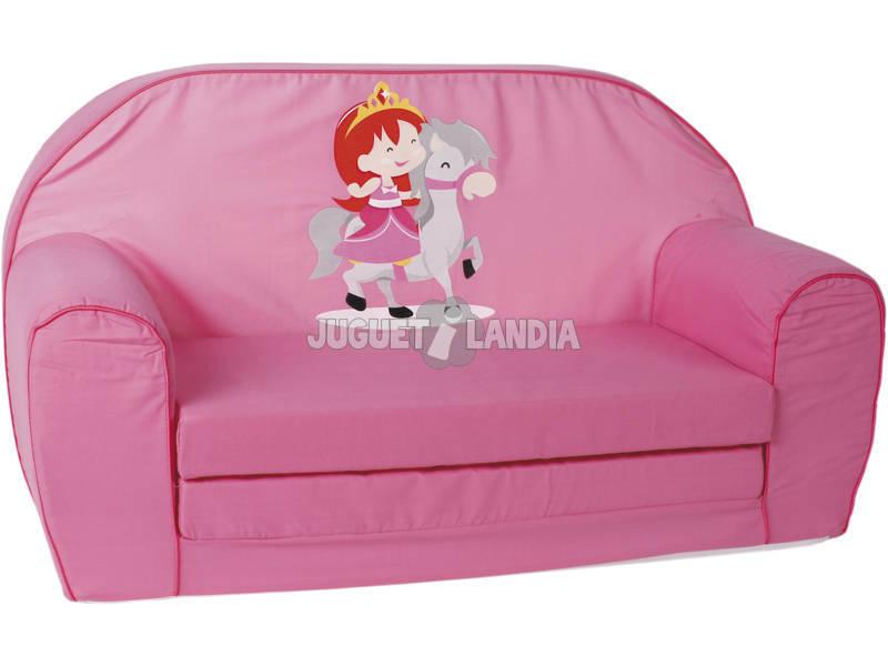 Sofa Princesa Rosa