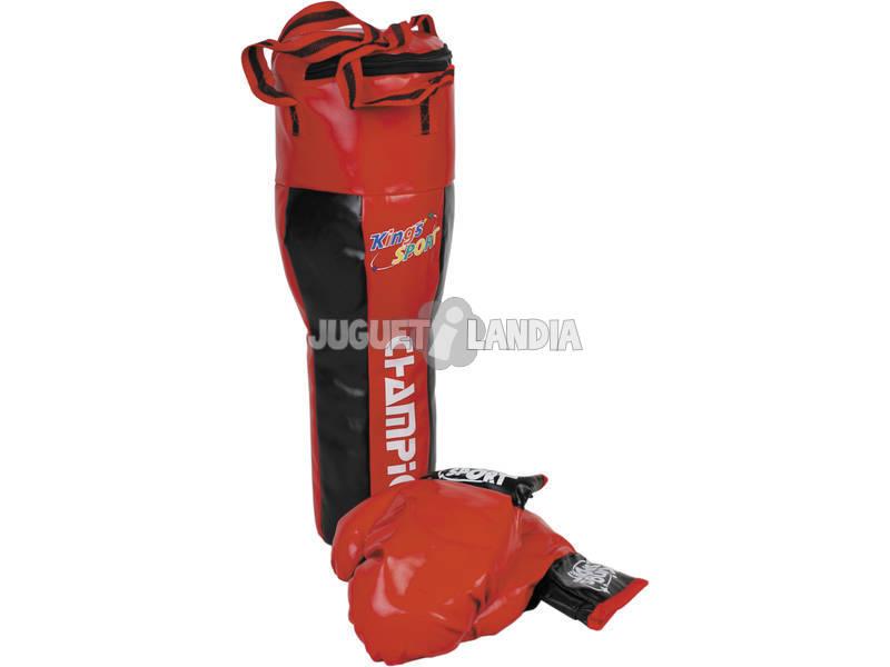 Saco boxeo 60 cm. Con 2 guantes