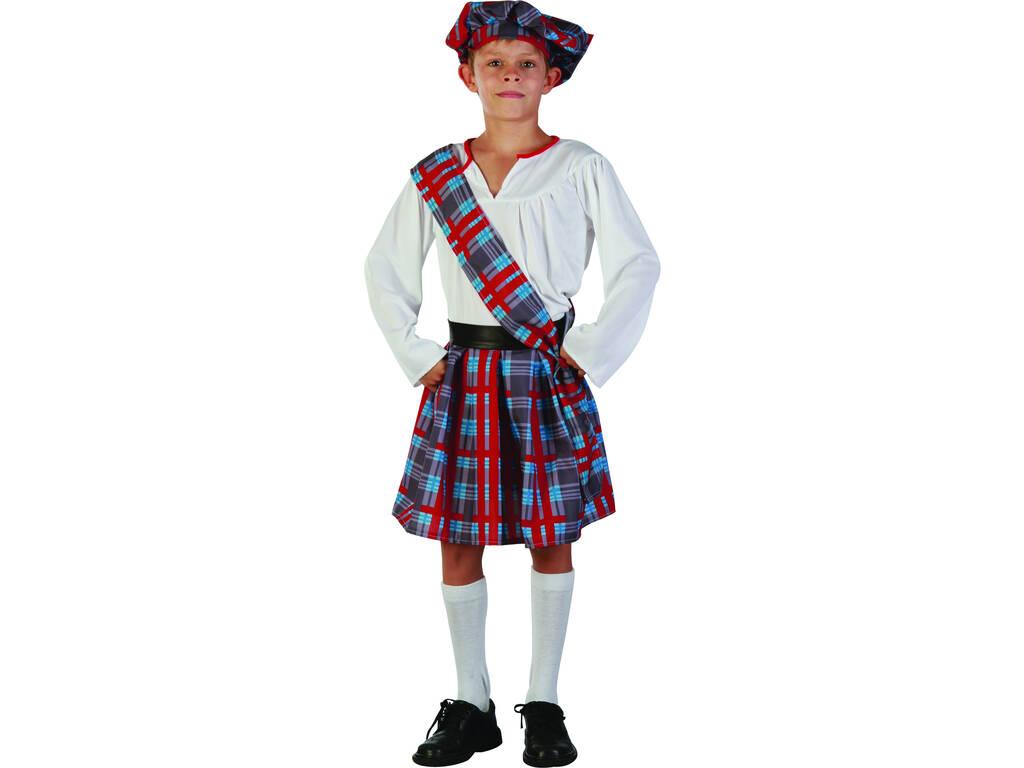 Disfraz Escoces Niño Talla L