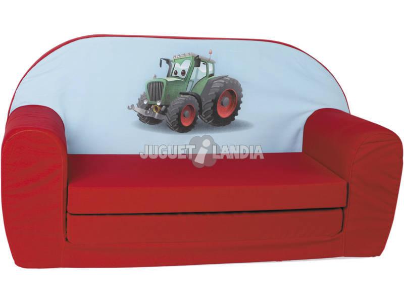Canapé Rouge Tracteur