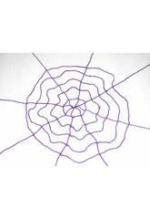 Tela Araña Elástica Purpura