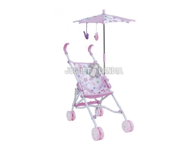 Une chaise le Poignet Pliant + une ombrelle