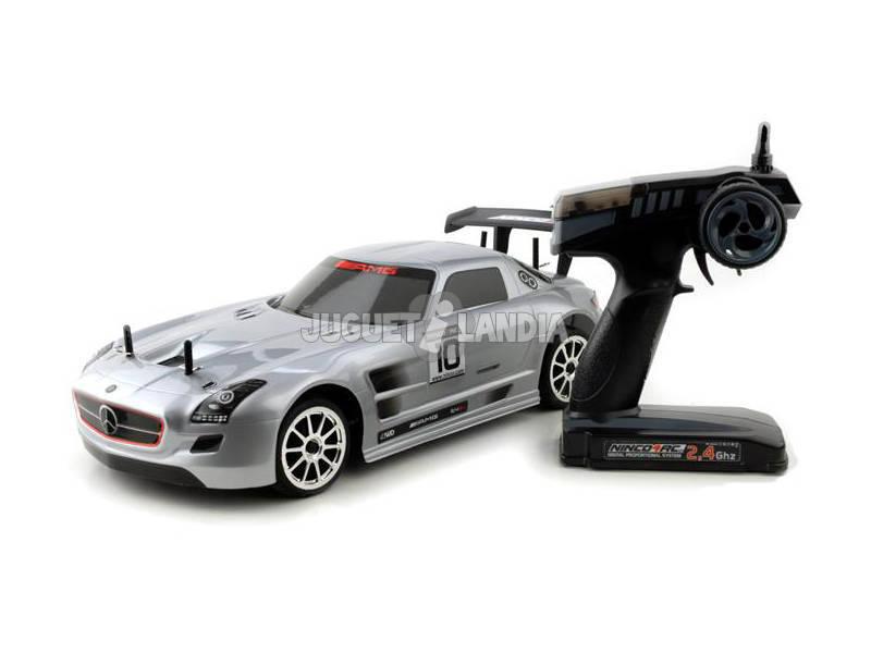 Rádio Controlo 1:10 Mercedes SLS AMG GT3 2.4G RTR
