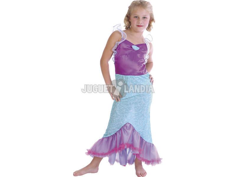 Disfraz Sirena Niña Talla S