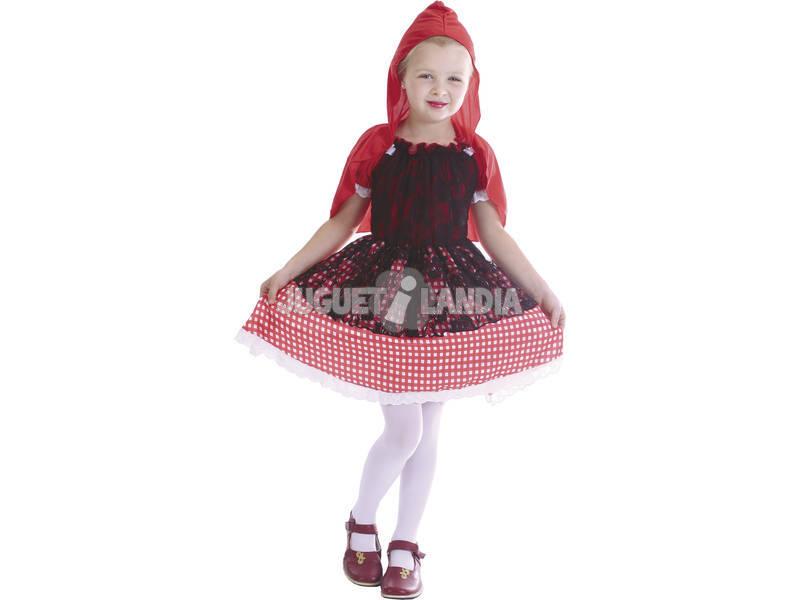Maschera Cappuccetto Rosso Bambina Taglia M