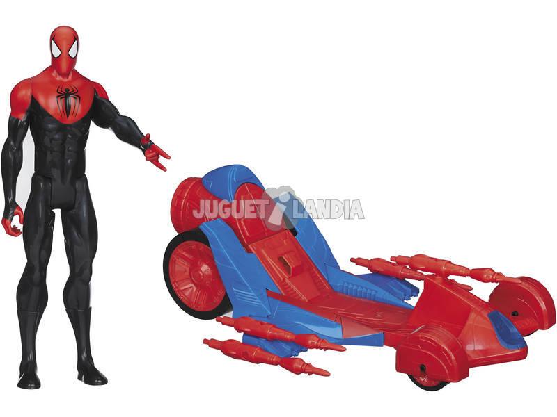 Spiderman Titan con Vehiculo
