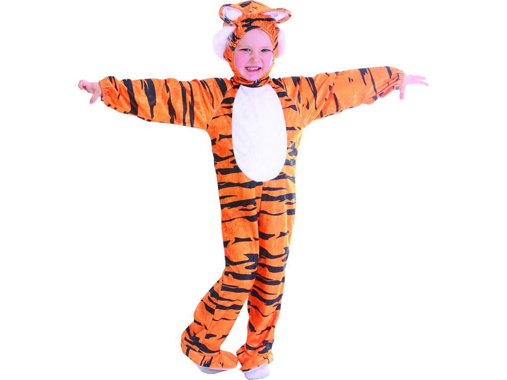 Costume Tigre A Righe Bebè Taglia M