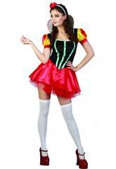imagen Disfraz Princesa de las Nieves Sexy Mujer Talla XL