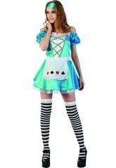 Costume Alice con Grembiule Donna Taglia XL
