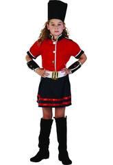 Disfraz Guardia Niña Talla M