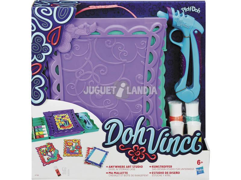 Hasbro DohVinci Art Valigia con kit per decorazioni artistiche