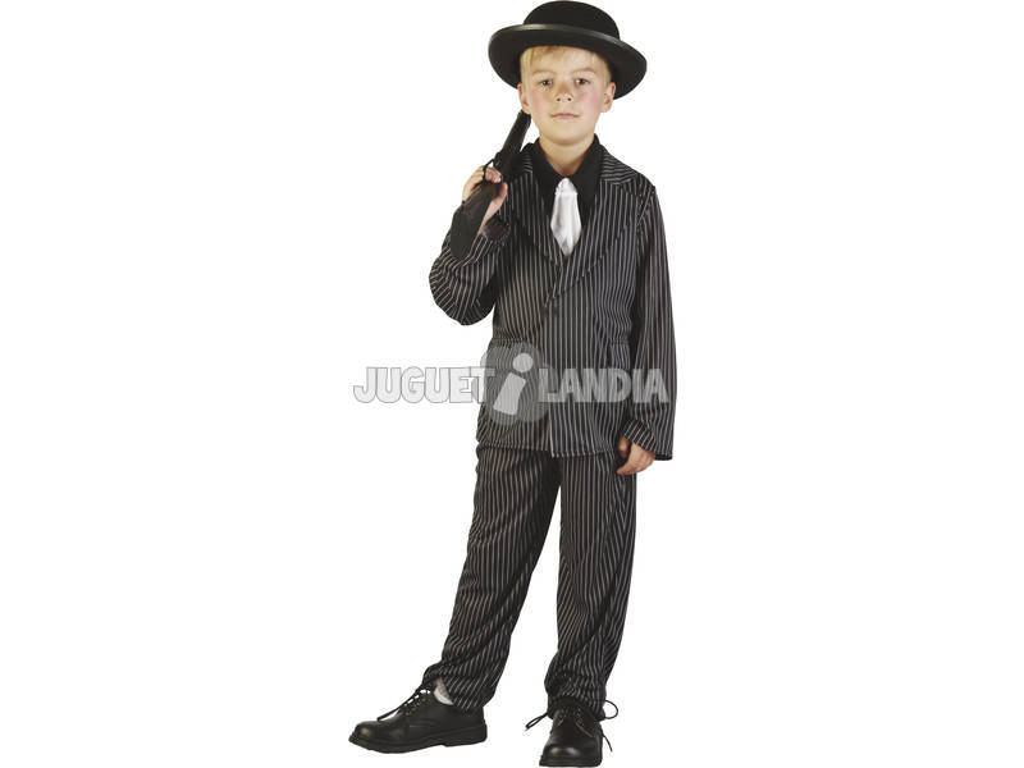 Maschera Gangster Bambino Taglia S