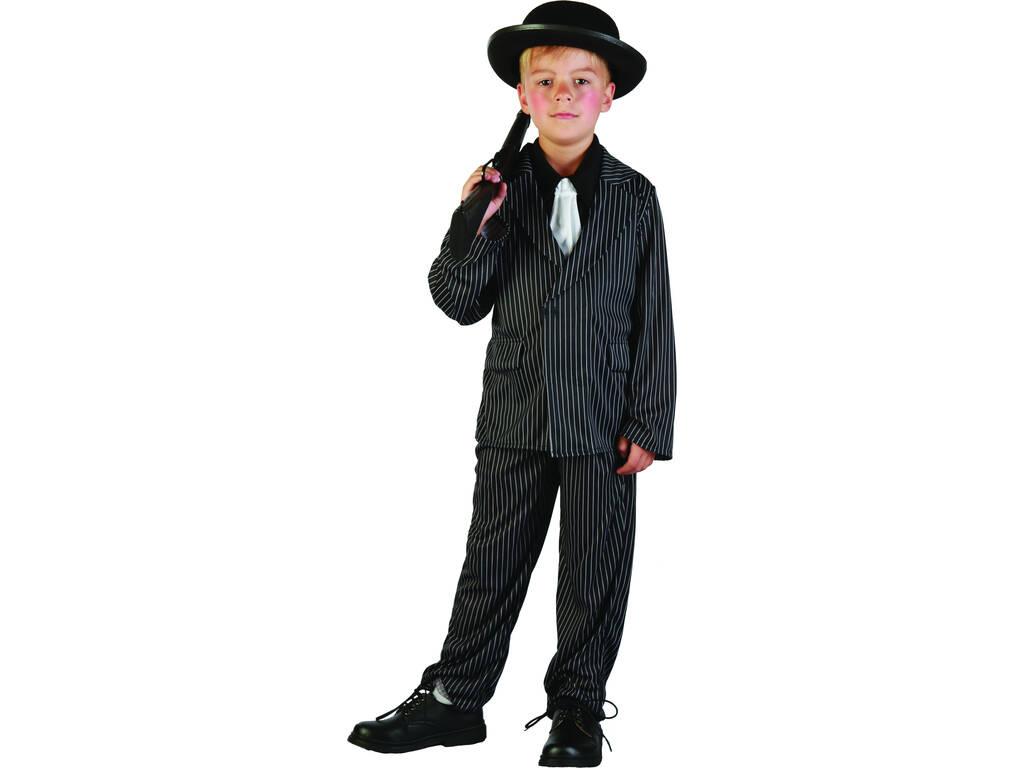 Disfraz Ganster Niño Talla M