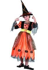 Déguisement Sorcière Pumpkin Fille Taille M