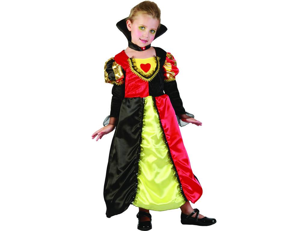 Disfraz Reina de Corazones Bebé Talla S