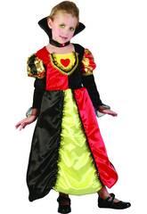 Disfraz Reina de Corazones Bebé Talla M