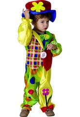 Kostüm Clown für Baby Größe S