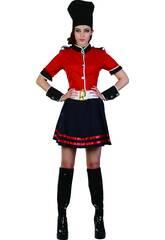 Costume Guardia Reale Donna XL
