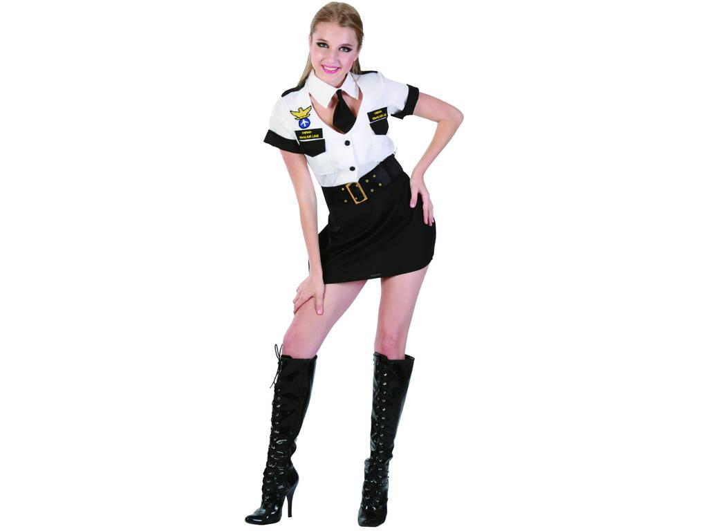Disfraz Azafata de vuelo Mujer Talla XL