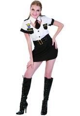 Maschera Hostess di volo Donna Taglia XL