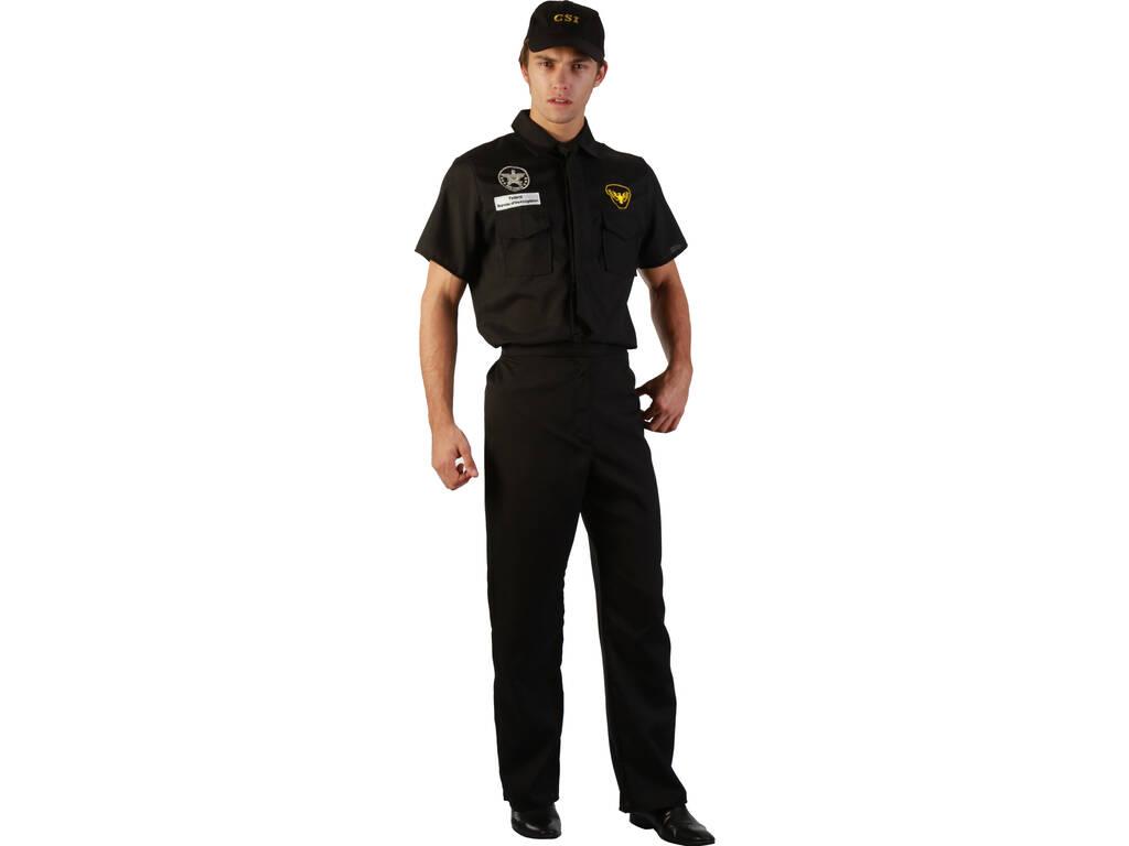 Fantasia Polícia Boné Homem Tamanho XL