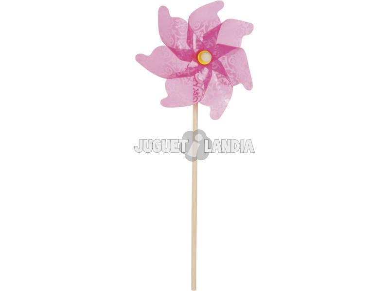 Molinillo de Viento Color Violeta 72 cm.