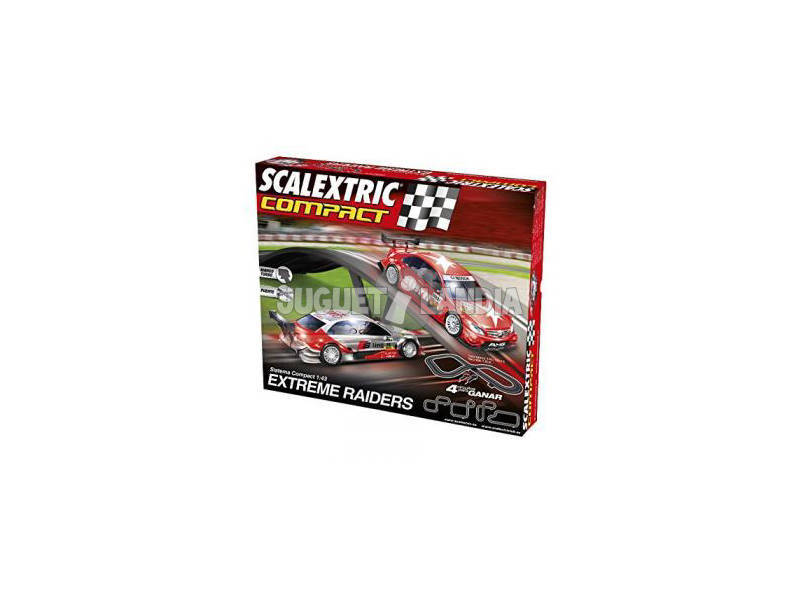 Scalextric Circuito Compact Extreme Raiders