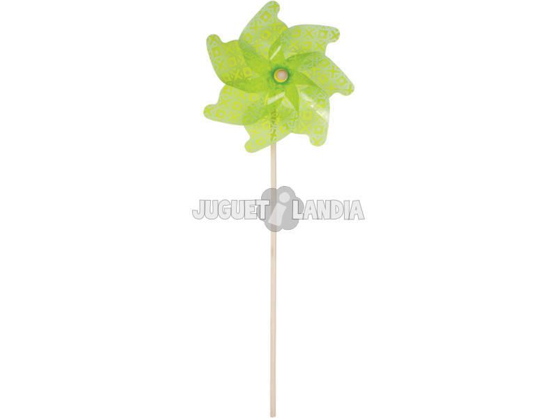Molinillo de Viento Verde 106 cm.