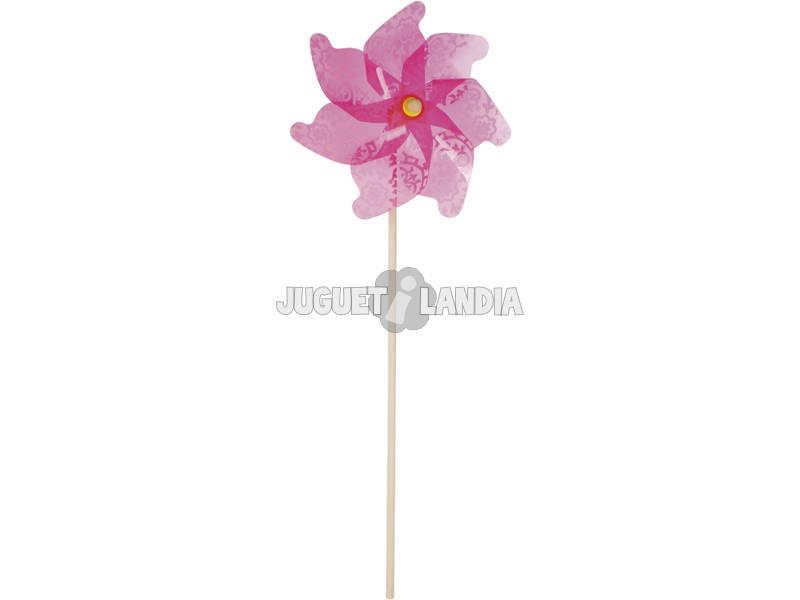 Moinho de vento Violeta 106 cm.