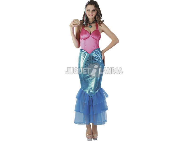 Disfraz Sirenita Mujer Talla L