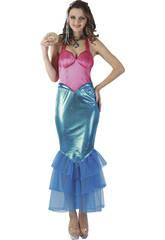 Kostüm Meerjungfrau Frau Größe L