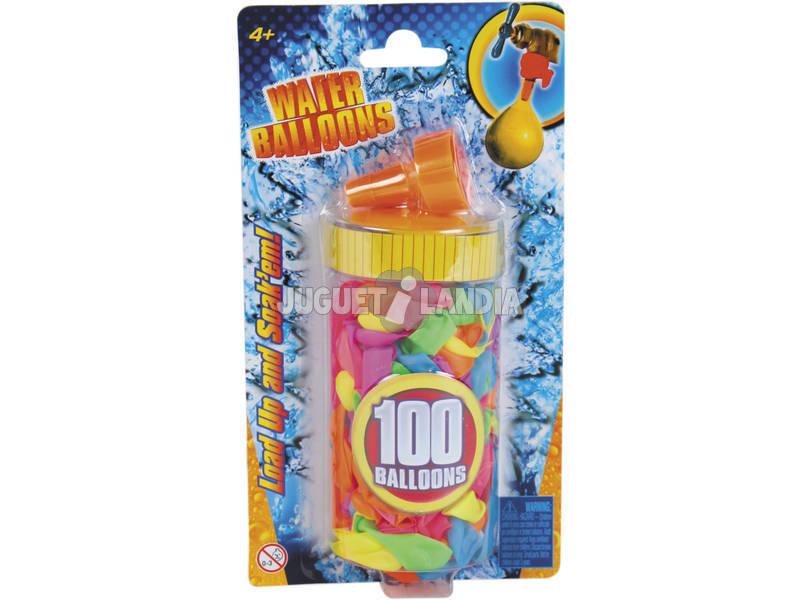 Globos de Agua 100 piezas con Rellenador