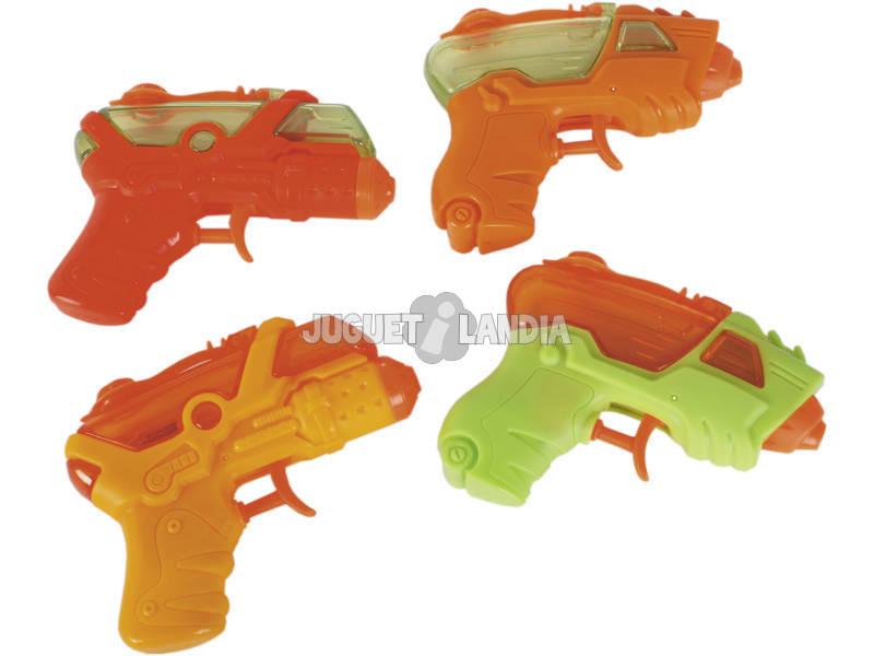 Pack 4 Pistolas de Agua